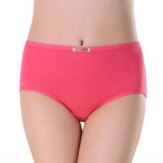 Оптовая продажа Большой размер белье женщин трусики высокая талия нижнего белья для женщин дамы шорты трусы L-XXXL