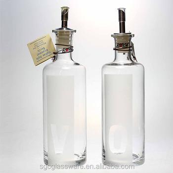 Italian Style Dispenser Bottle Use For Dispensing Olive Oil Vinegar