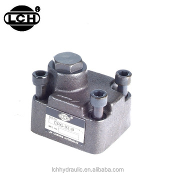 vickers type weh hydraulic control directional weighted check valve