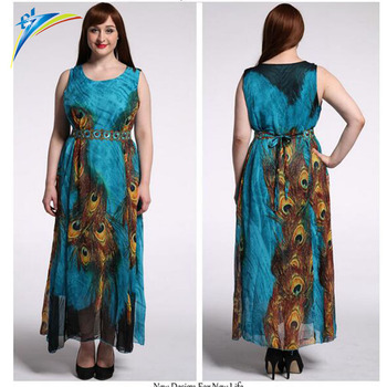 Fashionable Party Dress Designs For Fat Women Lady Wear X Large