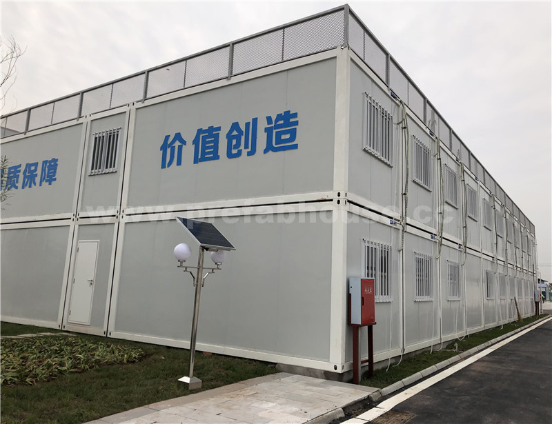 Fast building steel frame container house airport office