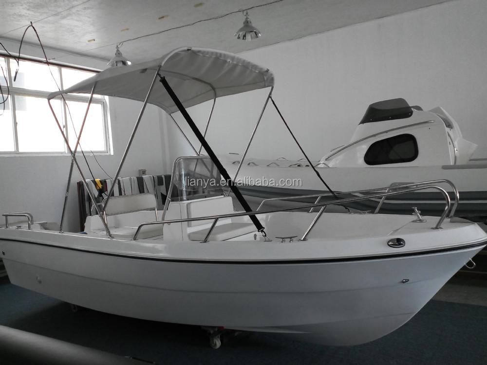 Liya small fiberglass fishing boat panga boat with motor for Small motor boat for sale