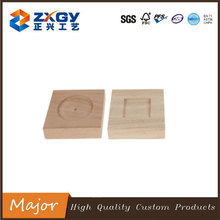 Natural Custom Square Wooden Base For Trophy Wholesale