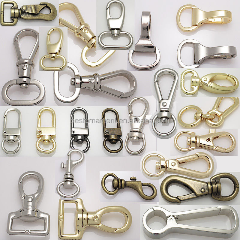 Metal Swivel Lobster Clasps Clips Snap Hook For Bag Crafts