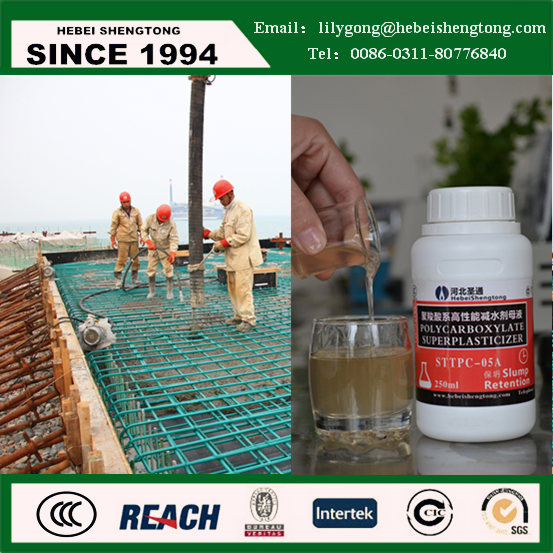 non shrink grout Concrete Plasticizers from China
