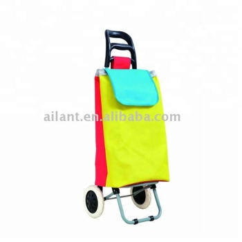 2018 high quality new style used folding shopping carts sale with cloth