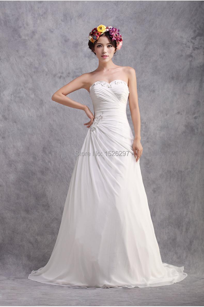 2015 Vintage&Elegant A line Sweetheart Wedding Dress ...
