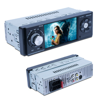 MP5 1 din multimedia car dvd player with usb Steering wheel remote control