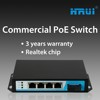 Best price and best quality switch poe 5 port and 1up-link port 0 packet loss rate
