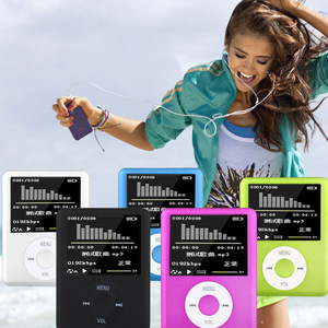 New design with TF Card Slot 1.8 inch TFT Screen Mp3 Mp4 Player Support Recorder FM Radio E-Book and Calendar