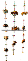 FAIR TRADE STRING OF BIRDS ELEPHANTS HEARTS HANGING TRADITIONAL INDIAN/ETHNIC