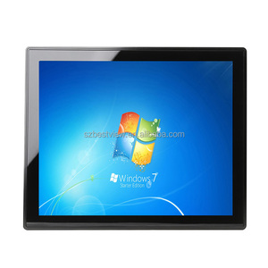 15 inch vga hdmi touch screen monitor capacitive touch monitor embedded industrial lcd monitor