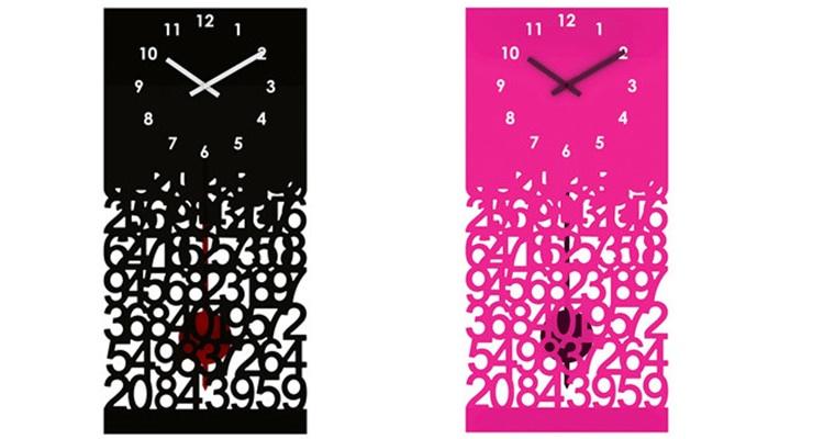 Silhouette Baroque Style Boîtier En Acier Pendule Horloge Murale ...