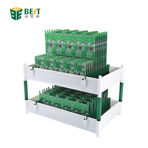 BST-132 New Design Manufacturer Direct Sales Precision LCD Glass Touch Screen Storage Rack Storage Box