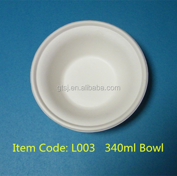 biodegradable compostable sugarcane bowl
