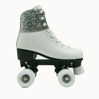 High quality semi-soft quad/inline skate full, innline skate shoes roller skate,soy luna patines