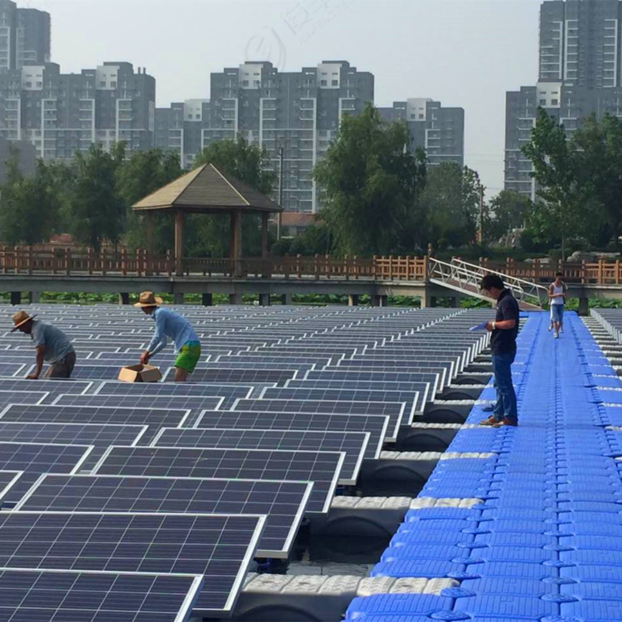 Factory direct most economical and stable floating solar system platform