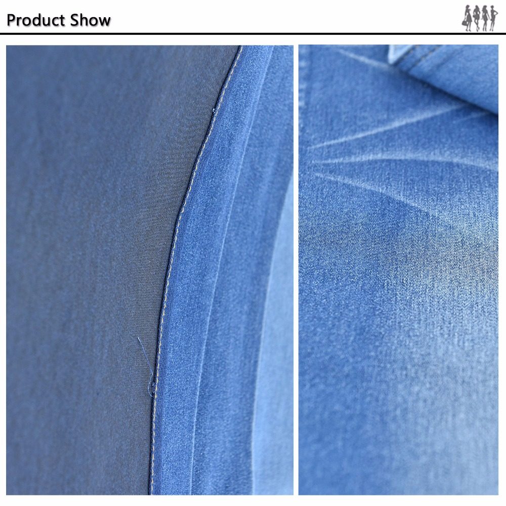 Fashion design and new indigo jeans fabric