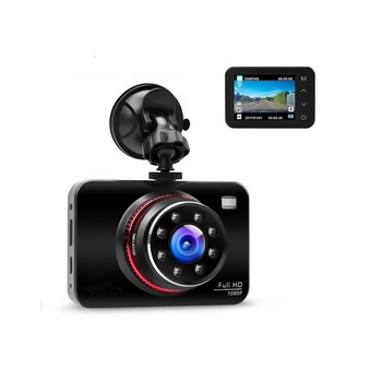 Video camera car , 2.7 inch IPS touch screen 1080P Full HD WDR 8 IR LED parking monitor super night vision car camera dvr