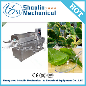 Multi-functional automatic cactus peeling machines with best price