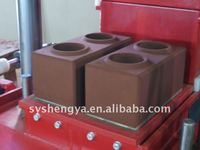 SY1-25 new type hydrualic cement+soil brick making machine