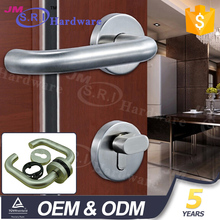Hardware lever pull handle stainless steel german door handle