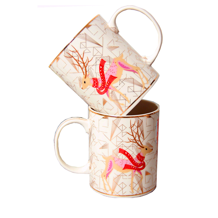 Factory custom indian hot products ceramic mug Promotion Items 2019 Gifts Sets Wedding Return Gifts