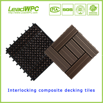 Cheap Easy Installation Snap Together Interlocking Patio