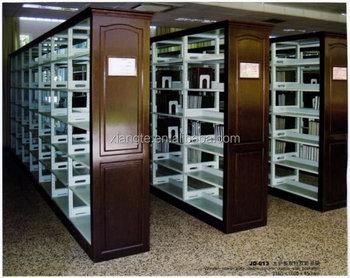 Nuovo stile in acciaio inox scaffale ferro battuto biblioteca di