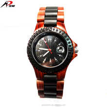 New trendy wooden watch men and women wood watches natural eco-friendly handmade wristwatch