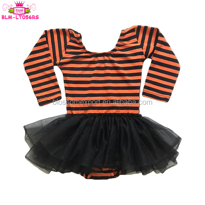 Wholesale girls black long sleeve leotards gymnastics kids cotton flutter long  sleeve toddler infant adult  ballet leotard