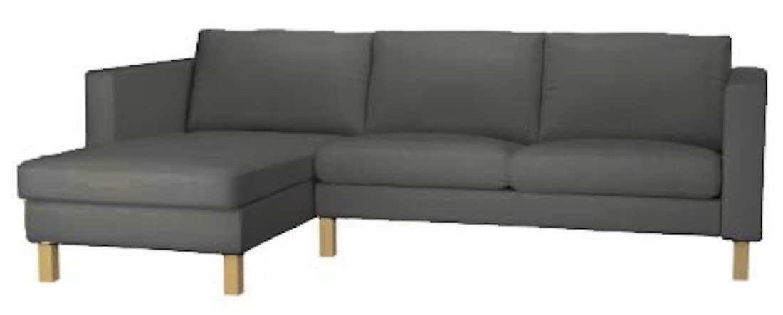 Enjoyable Buy The Karlstad Loveseat Two Seat Sofa With Chaise Gmtry Best Dining Table And Chair Ideas Images Gmtryco