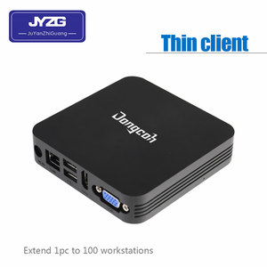 Cheap linux based thin client With Dc 12v 5*usb2.0 DDR3 1GB 4GB EMMC Citrix HDX zero client