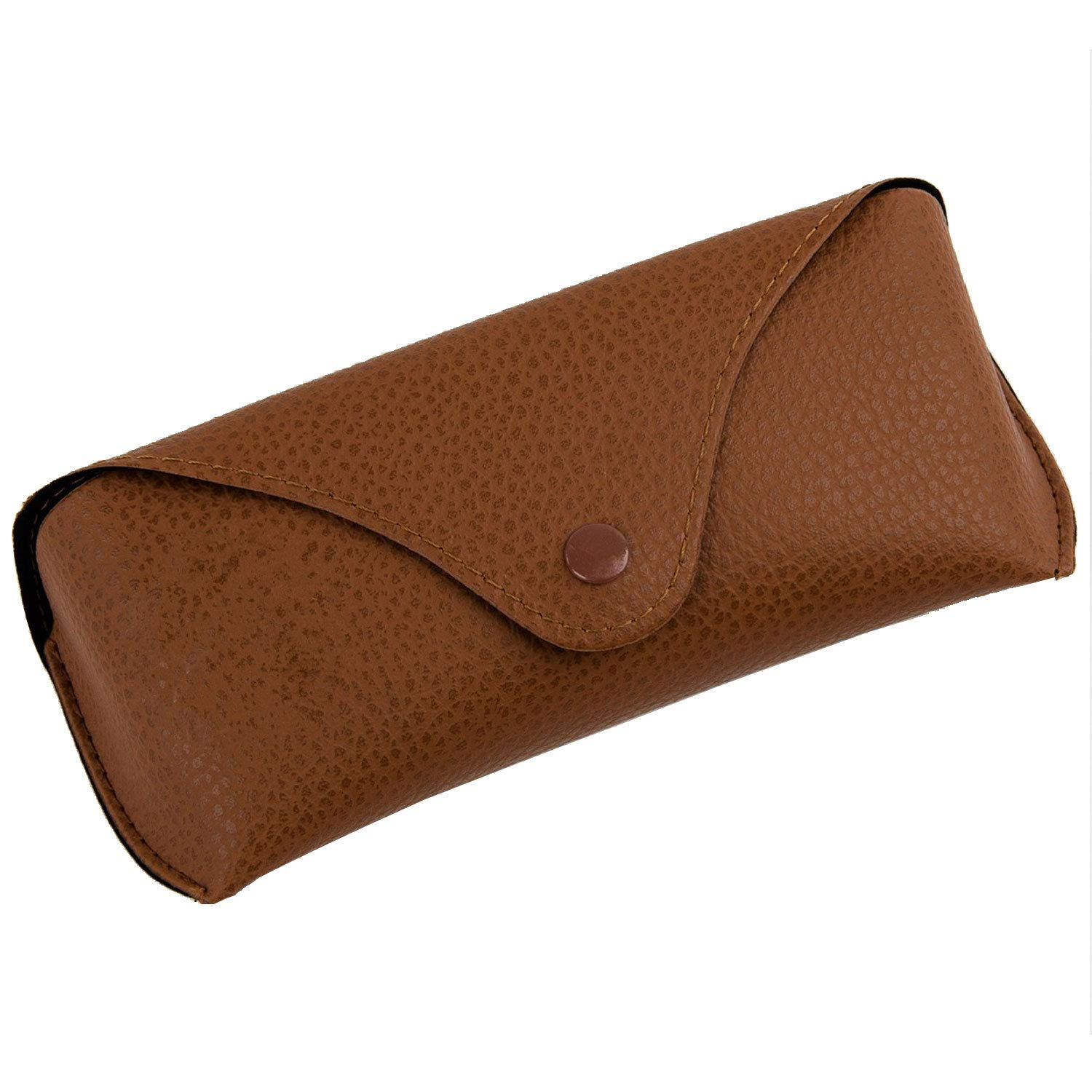 4af7ffe6f54 J.west Portable PU Leather Sunglasses Pouch Soft Eye Glasses Carry Case for  Women Men