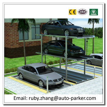 Valet Parking Equipment Auto Park Underground Car Stacker Car Lifts