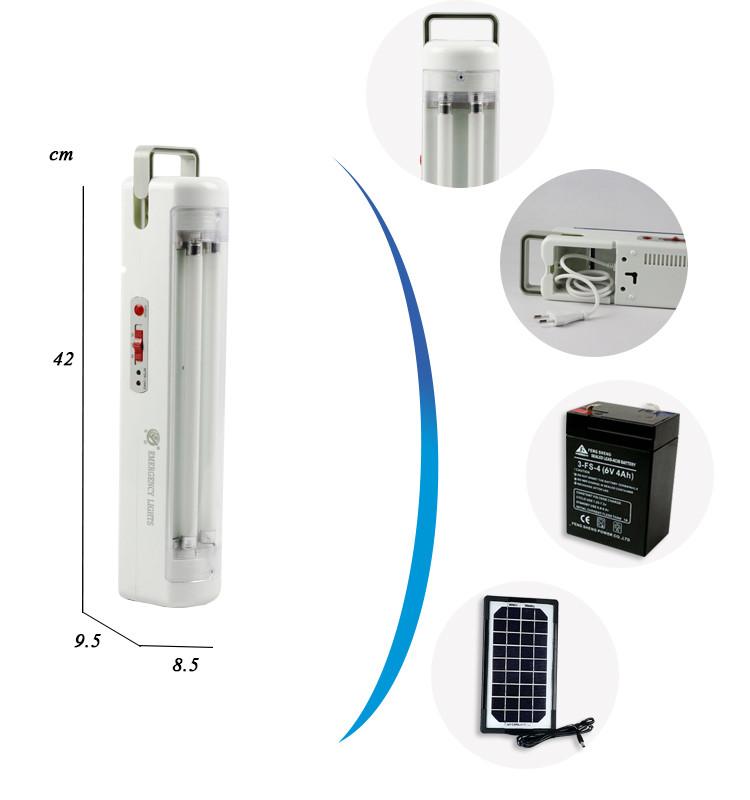 fluorescent tubes battery operated led emergency light. Black Bedroom Furniture Sets. Home Design Ideas