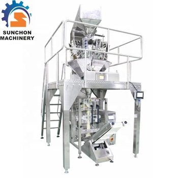Multi Head Weigher Automatic Dried Mushroom Packaging Machine