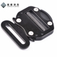 Fall protection as well as bags and luggages Black Color quick release buckle