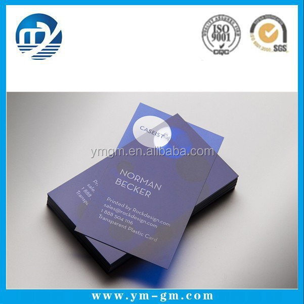 Customized factory price spot uv business card printing