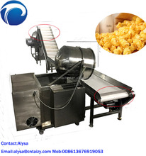 China popcorn maker machine production line