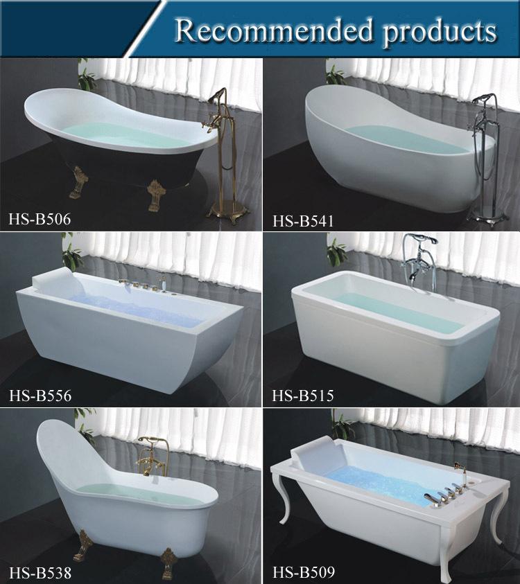 Hs-b518 Bathtub With Claw Feet,High Quality Free Standing Bathtub ...