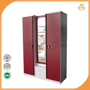 Wholesale indian bedroom wardrobe designs steel almirah for Bedroom almirah designs india