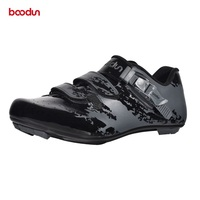 boodun Road Bicycle Cycling Shoes Breathable Road Bike Racing Athletic Shoes