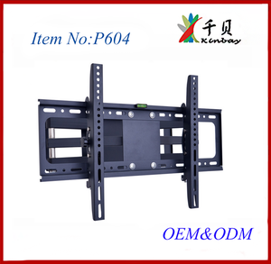 super size Consumer electronic parts LCD moving stand 32'' to 65'' installing led tv bracket rotating stand
