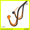 head phones hand free for mobile phone fashion metal earphone good neckband bluetooth headset