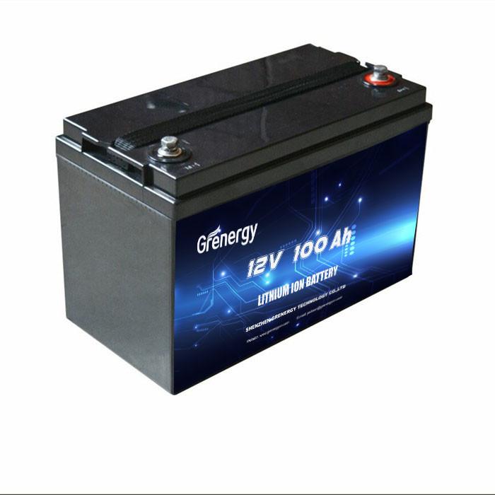 Pin axít chì thay thế pin LiFePo4 12 V 100Ah cho xe golf