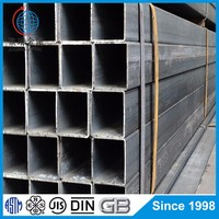 Hot Rolled ms square pipe weight chart square hollow section pipe