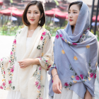 Fashion Turkey Shawl Custom-Made Printed Wholesale Indian Wool Scarves Women