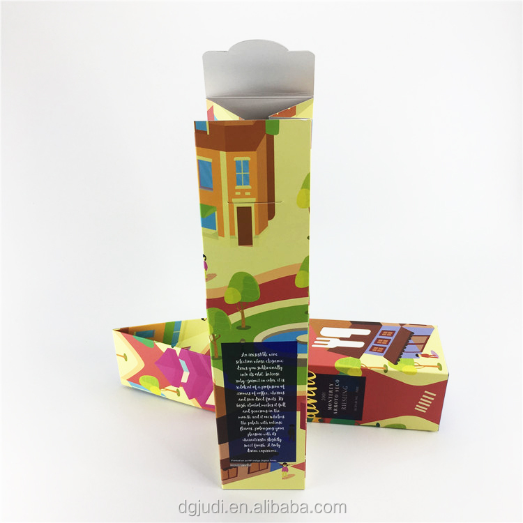 Factory Cardboard Wine Champagne Wooden Fruit Box For roll