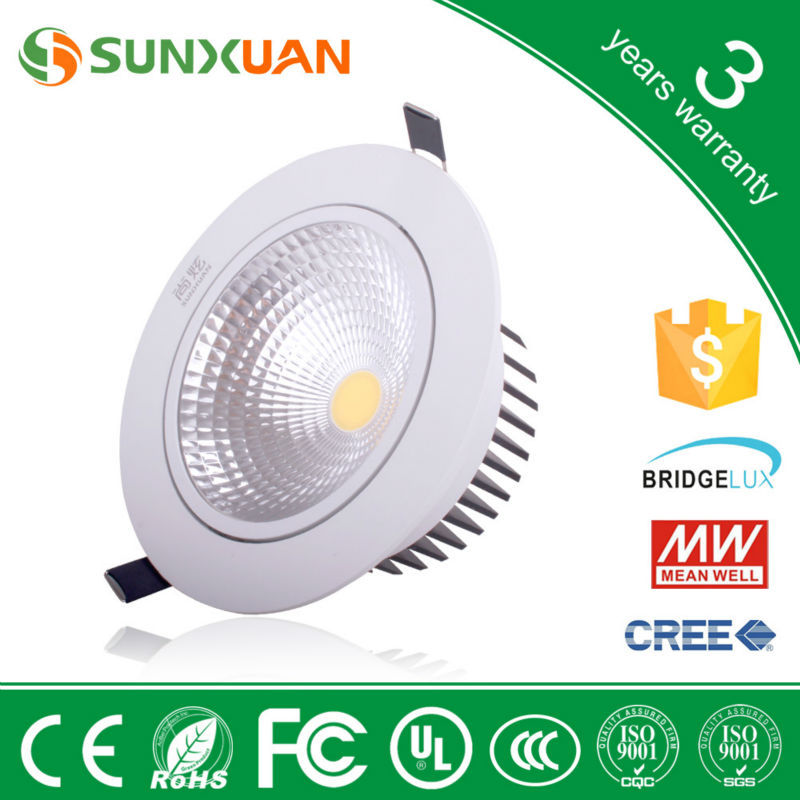 15w Cob Led Downlight 15 Watt Led Down Light With 3years Warranty ...